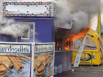 """Taste of Edmonton"" fire hospitalizes food vendor"