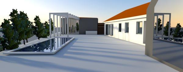 Om-tillbyggnad i Malmö-Oxie