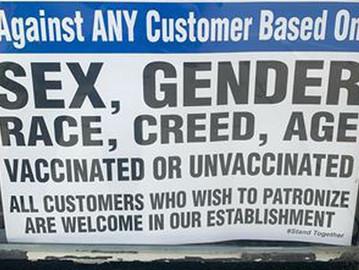 'We accept everyone': Oakville restaurant refuses to check vaccine passport
