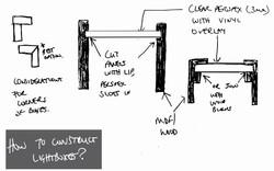 LIGHTBOX CONSTRUCTION OPTIONS