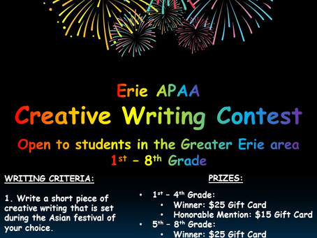 The Erie APAA Creative Writing Contest