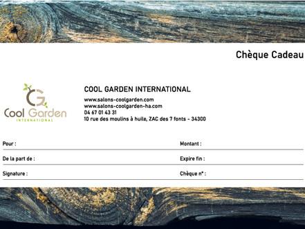 Chèques cadeaux chez Cool Garden