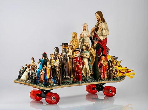 Skate Géant Jesus