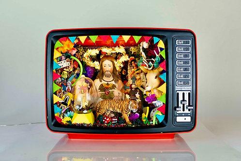 TV Jesus rouge