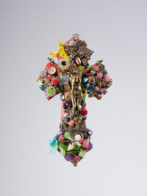 crucifixo pantera