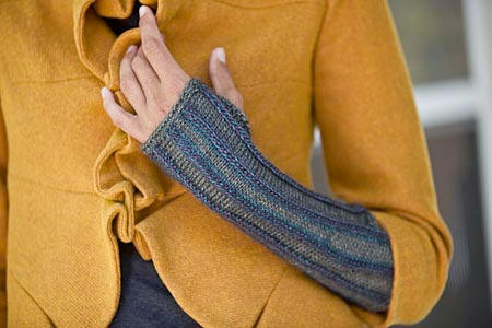 Latvian Braid Mitts