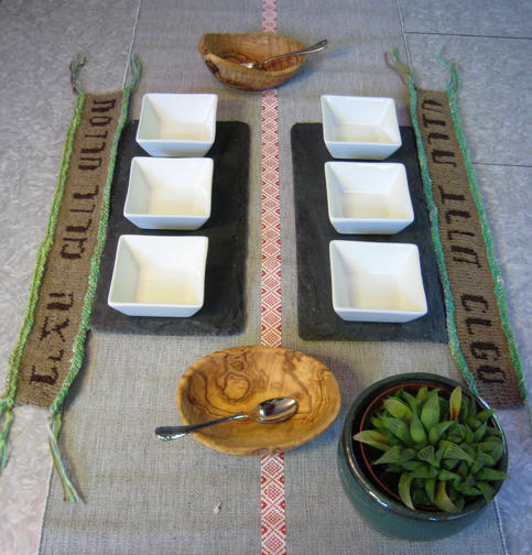 Passover Seder Plate Runners