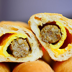 COUNTRY SAUSAGE CHEESE EGG