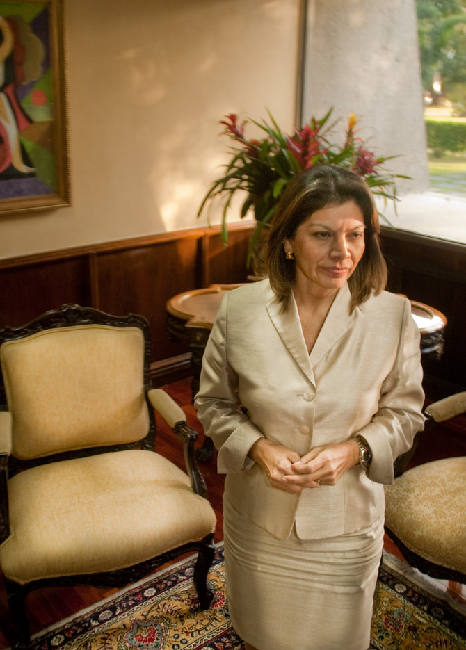 My interview with the first female President of Costa Rica