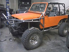 Suzuki Samurai Custom Roll Cage built at Flex Point Off Road in Redding California