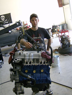 High Performance 22RE Toyota Engine Rebuilt at Flex Point Off Road in Redding California
