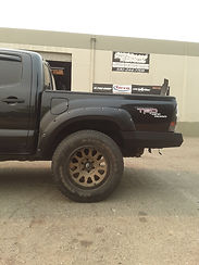 Rear Bumper Toyota Tacoma Relentless Fabrication done at Flex Point Off Road