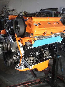 Toyota Tacoma 5VZ-FE High Performance Engine for a Supercharger built at Flex Point Off Road in Redding California
