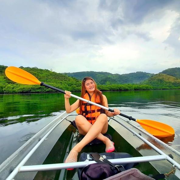 Clear Kayaking at Royal Island Watersports