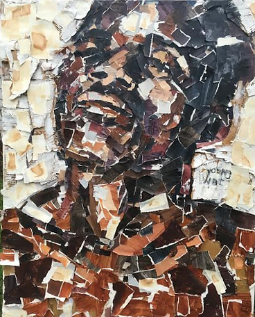 Young Nat, 64 x 72 inches, Red Wine, Pal