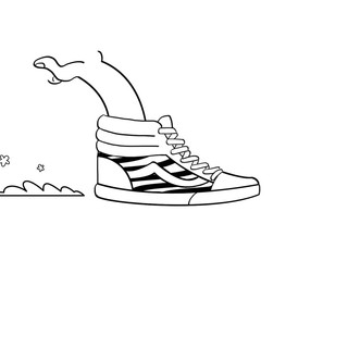 """Vans, 50th Anniversary """"They're Canvas"""""""