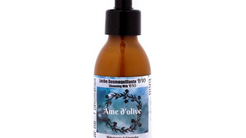 Leche facial desmaquillante aceite de oliva Bio
