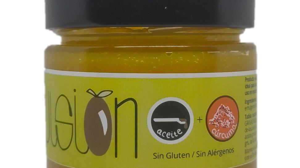 Emulsión de aceite de Oliva Virgen Extra con cúrcuma