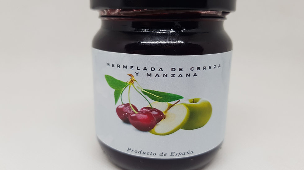 Tarte Kirsch-Apfel-Marmelade