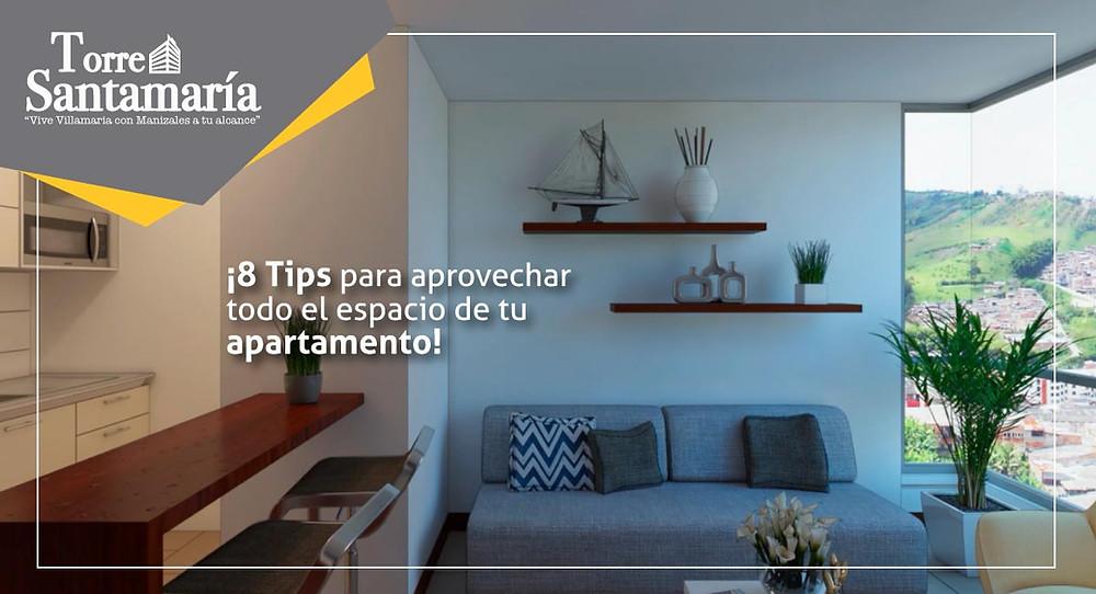 Aprovechar todo el espacio de tu apartamento