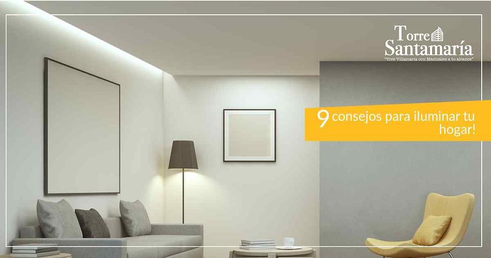 9 consejos para iluminar tu hogar