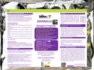 ASPERELLO® T34 Biocontrol® krijgt een zeer mooie etiket uitbreiding