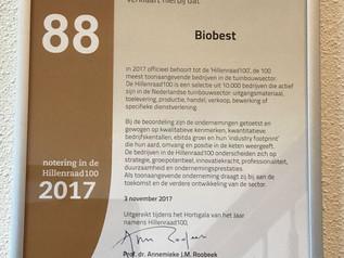 Biobest Nederland stijgt in de Hillenraad top 100