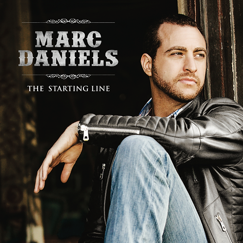 "Marc Daniels - ""The Starting Line"" - CD"