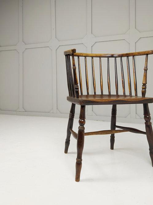 Horseshoe Back Windsor chair