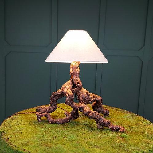 Natural Vinewood Lamp