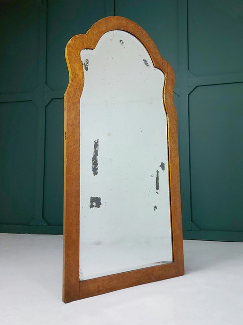 Tall Walnut Mirror