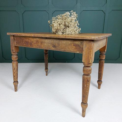 Pitch Pine Farmhouse Table