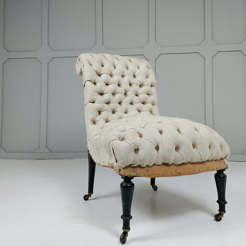 Napoleon III Slipper Chair