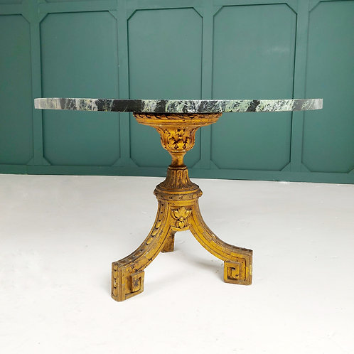 Giltwood Occasional Table