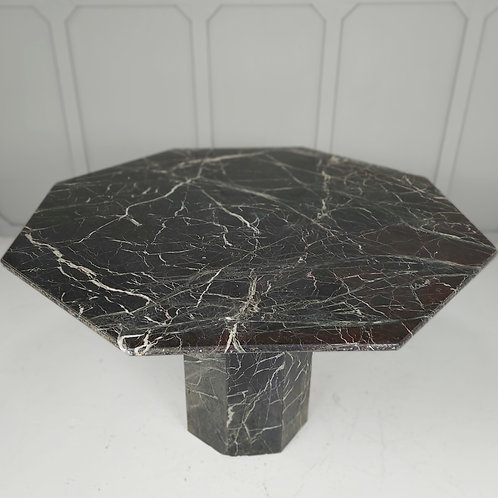 Large Octagonal Marble Table