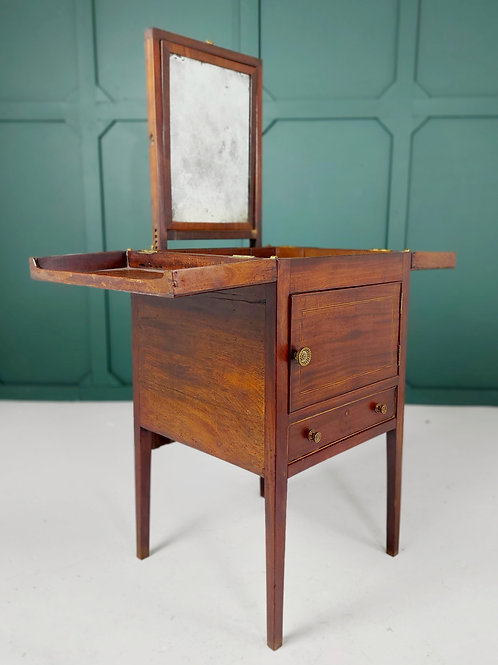 19th Century Campaign Wash Stand