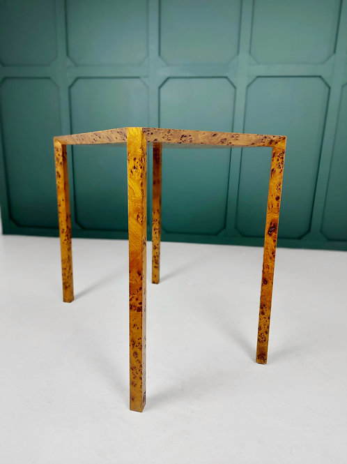 Mark Boddington for Silverlining Burr Elm Side Table
