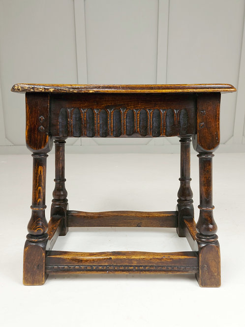 18th Century Oak Joint Stool