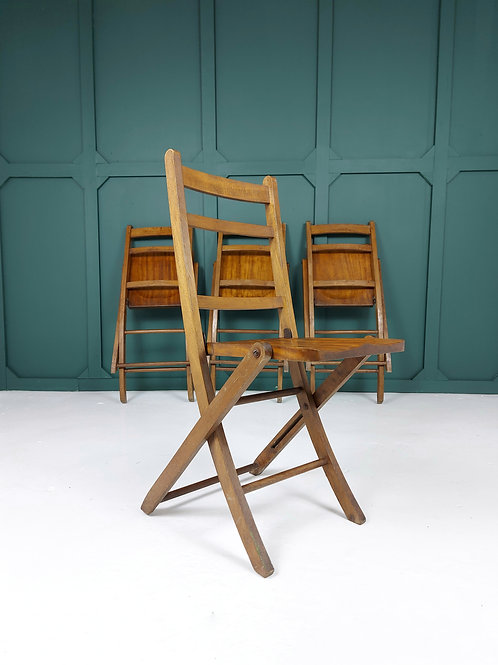 Folding Chairs Early 20th Century