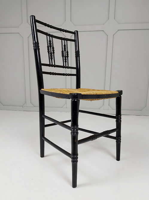 Ebonised Sussex Chair