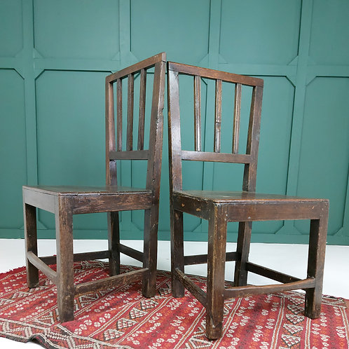 Pair of Late 18th C Chairs