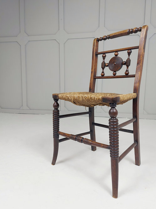 Turned Arts & Crafts Chair