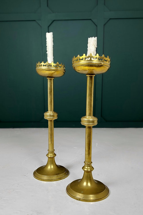 Brass Altar Candle Sticks
