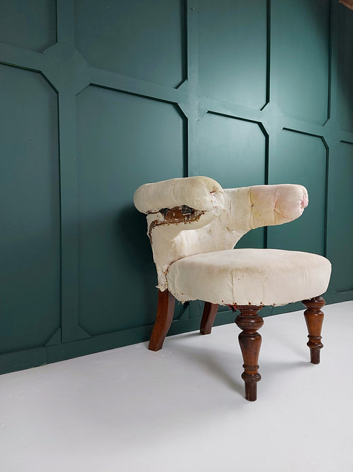 19th Century Library Chair