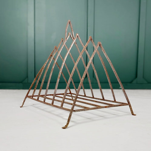 Wrought Iron Magazine Rack