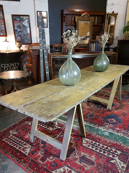 Large Trestle Tables