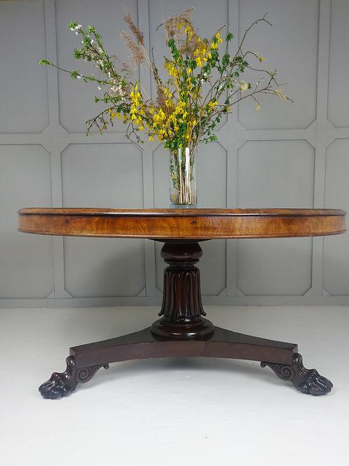 William IV Center Table