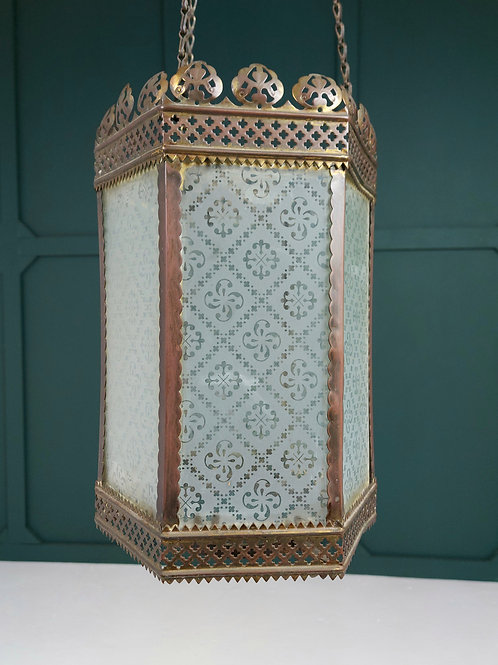 Copper Hall Lantern