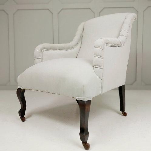 Ebonised 19th Century Armchair