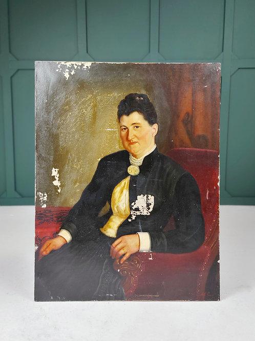 Large Portrait of a Lady